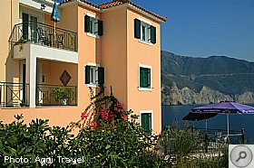 Overview, Assos Beach Apartments, Kefalonia, Agni Travel