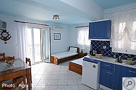 First Floor Apartment, Assos Beach Apartments, Kefalonia, Agni Travel