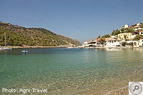 Location, Assos Beach Apartments, Kefalonia, Agni Travel