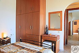 Bedrooms, Villa Aetos, Kefalonia, Agni Travel