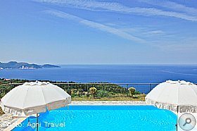 Swimming Pool, Villa Aetos, Kefalonia, Agni Travel