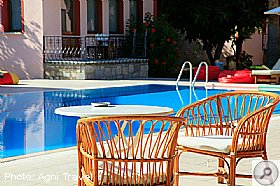 Swimming Pool, Yagmur Apartments, Turkey, Agni Travel
