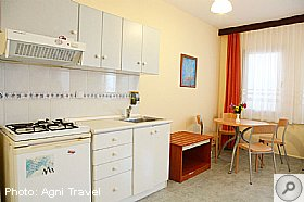 Kitchen, Yagmur Apartments, Turkey, Agni Travel