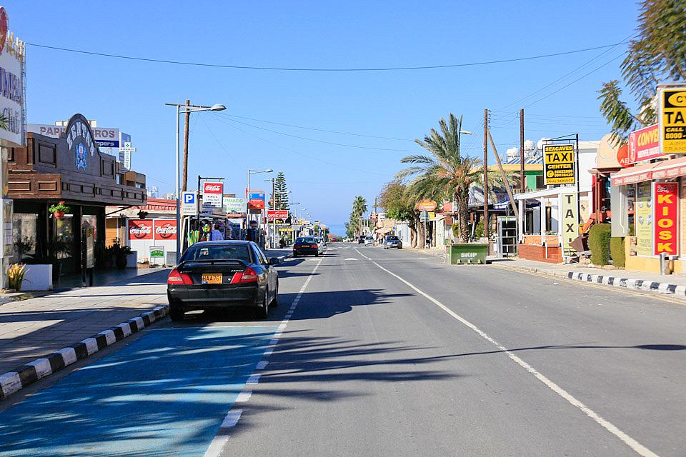 Restaurants In Coral Bay Strip Cyprus