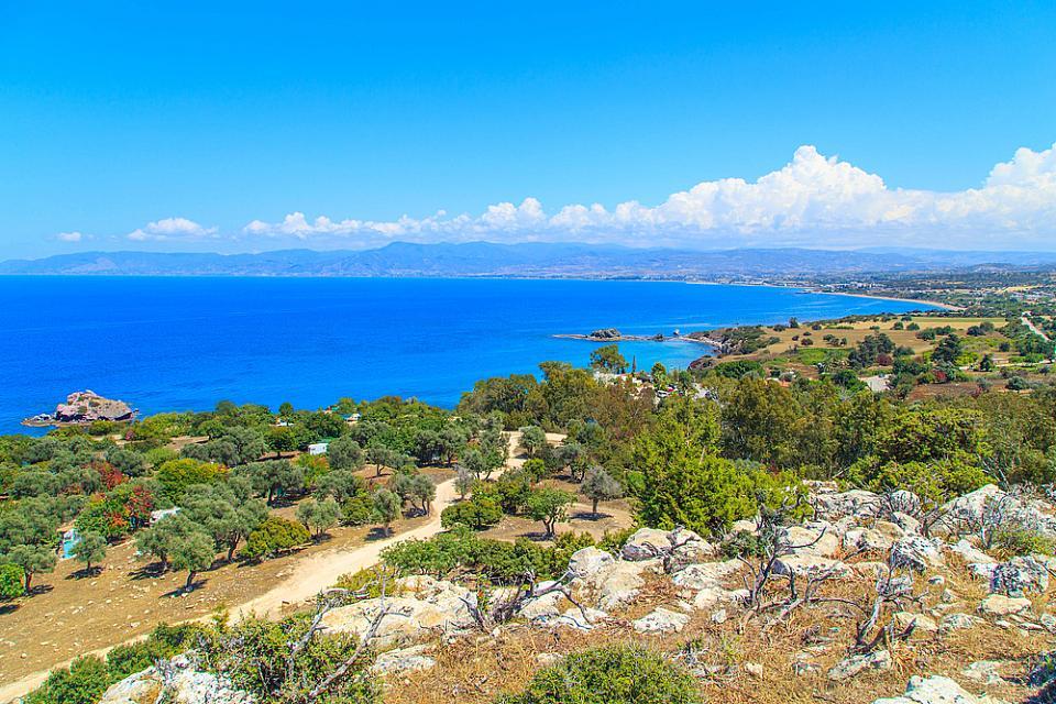 The Baths of Aphrodite Cyprus Agni Travel