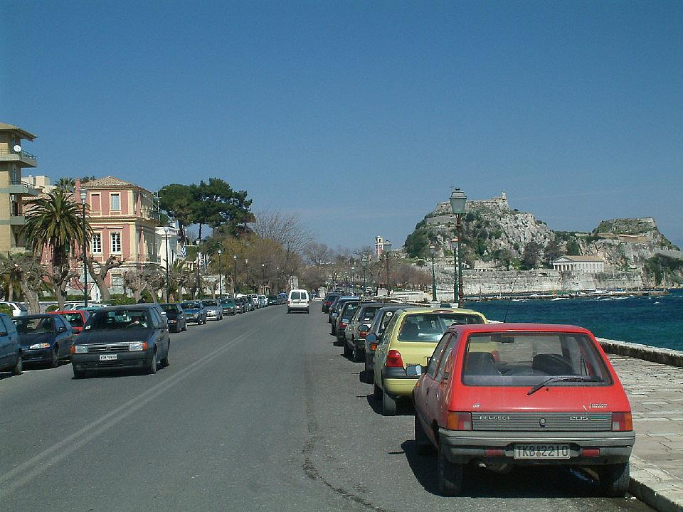 Corfu Town to Tzavros, Corfu, Agni Travel Driving Instructions
