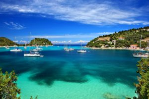 Lakka Paxos Greece