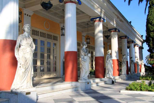 Achilleion Palace Corfu attractions