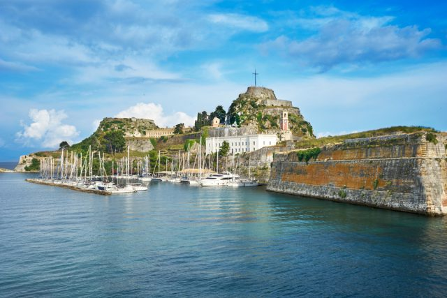 Corfu attractions Old Fortress