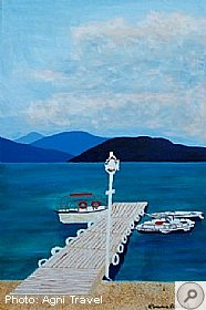 Emma Fifield, Ionian Artists, Kefalonia - Nikolas Cage - Read on and News, Kefalonia Travel Guide
