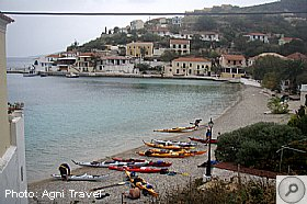 Sea Kayaking Assos, ASSOS, Kefalonia Resort Guide, Kefalonia Travel Guide
