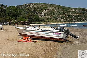 Motor Boat Hire in Katelios, KATELIOS, Kefalonia Resort Guide, Kefalonia Travel Guide