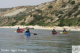 Sea Kayaking in Katelios region, KATELIOS, Kefalonia Resort Guide, Kefalonia Travel Guide