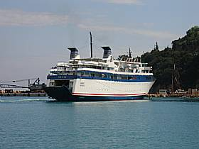Poros to Kilini Ferry, POROS, Kefalonia Resort Guide, Kefalonia Travel Guide