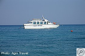 Glass Bottom Boat trips from Skala, SKALA, Kefalonia Resort Guide, Kefalonia Travel Guide