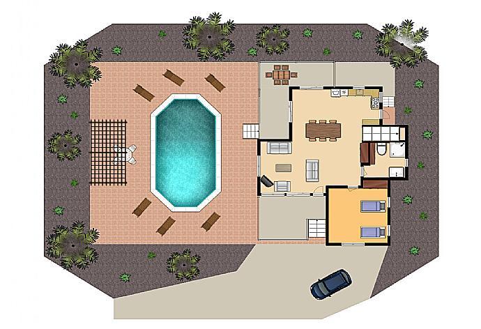 Villa Charoula Thio