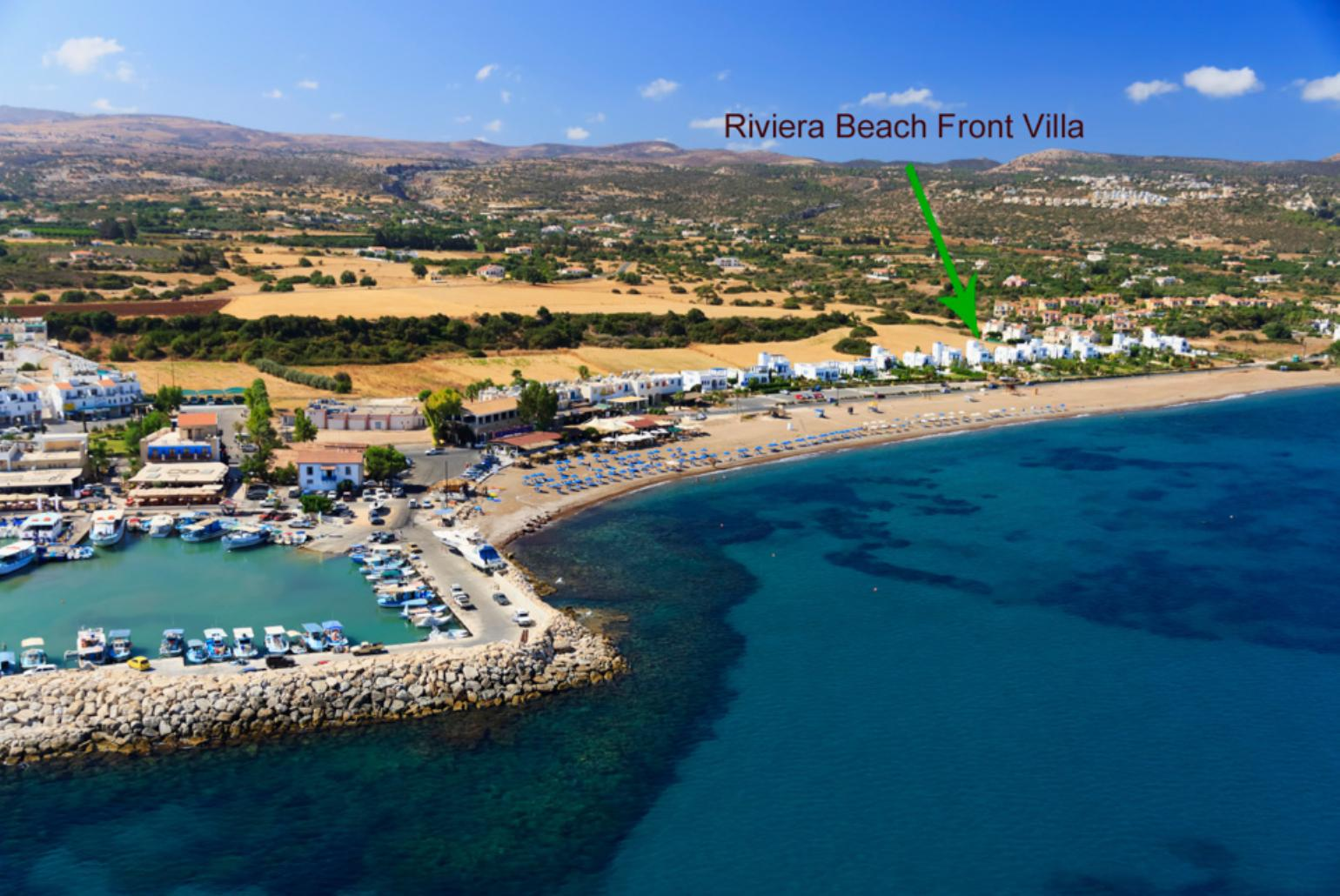 Riviera Beach Front Latchi Cyprus Rentals With Private Pool