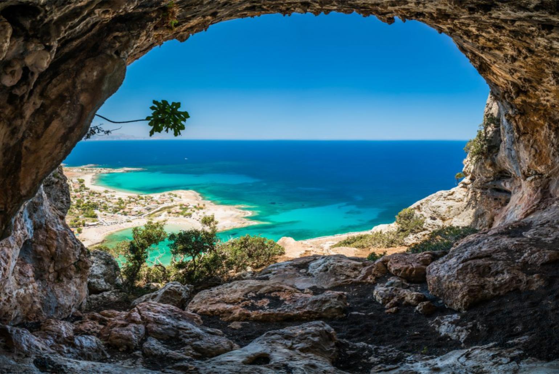 Souda Bay View Crete Kalami Chania Crete Villas To Rent