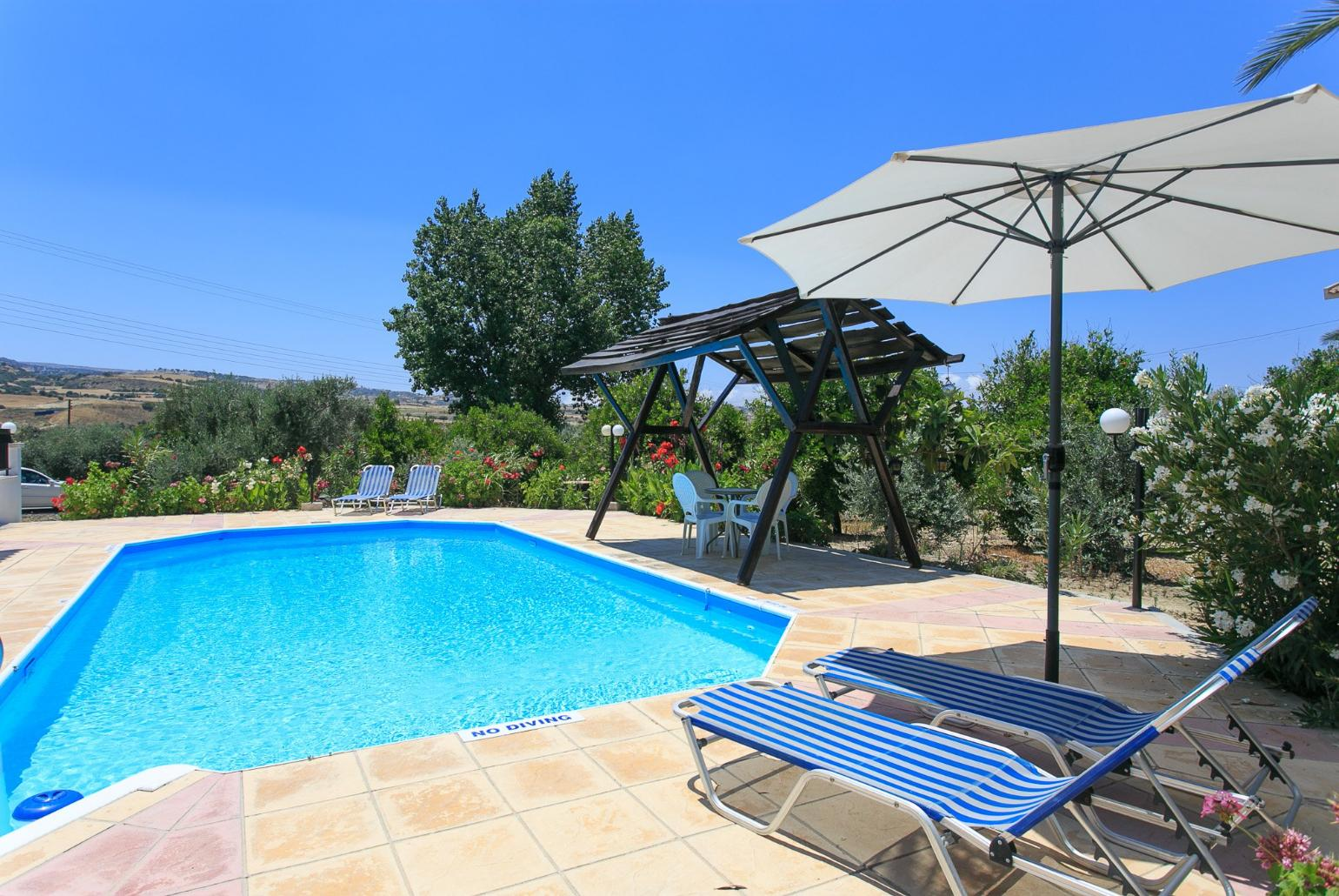 Villa Charoula Ena, Polis   Cyprus Rentals with Private Pool