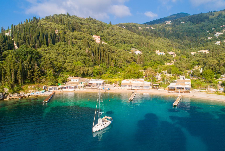 The Olive Press Agni Bay Corfu Agni Corfu Villas To