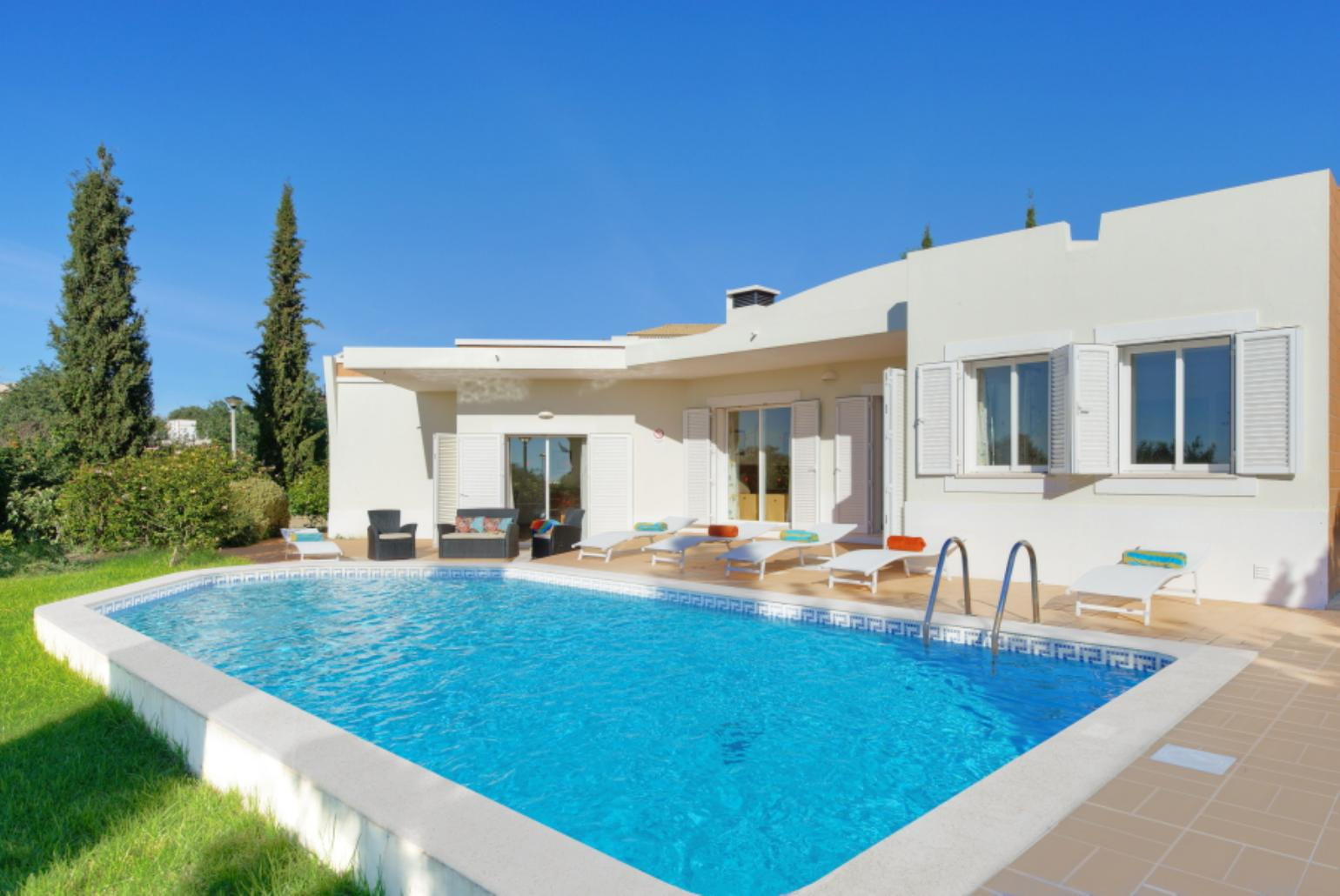 Villa Tulipa Albufeira Algarve Rentals With Private Pool