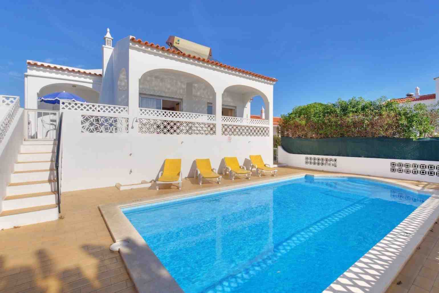 Beach Villa Barreto Albufeira Algarve Rentals With