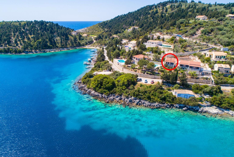 Dolphin Villa 1 Paxos Moggonisi Paxos Villas To Rent