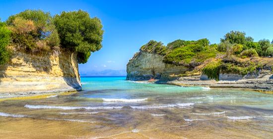 Sidari Sandy Beach