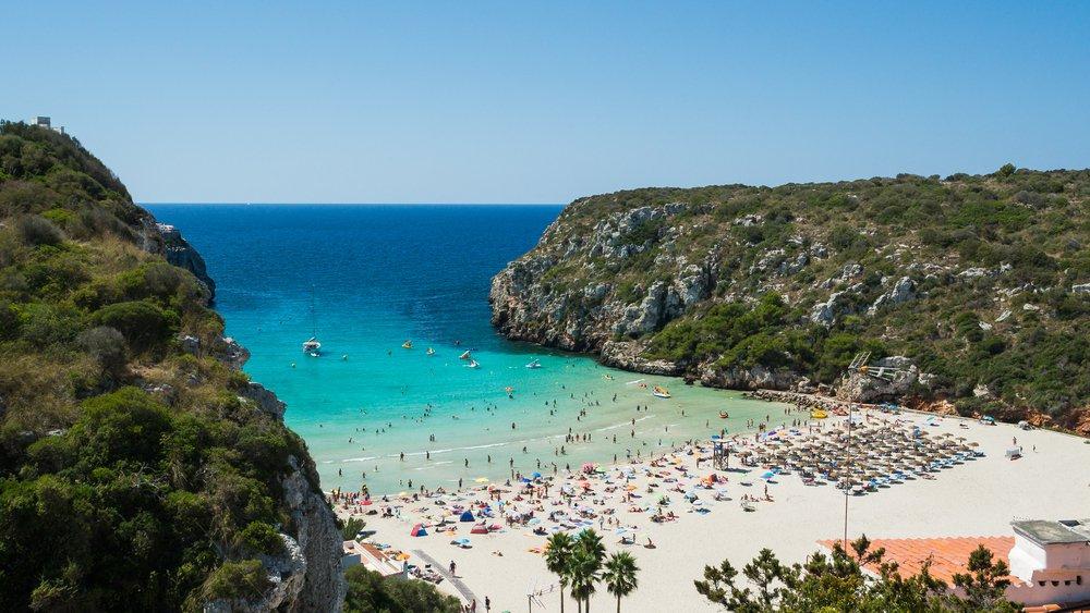 Menorca, Cala en Porter