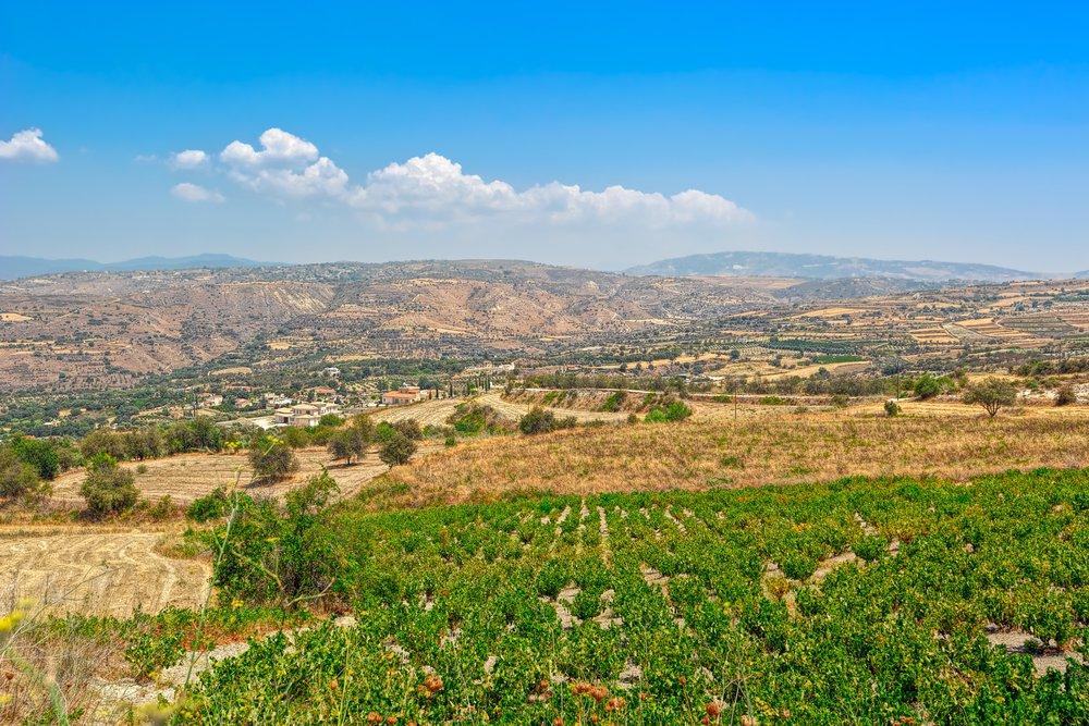 Peristerona near Latchi Cyprus