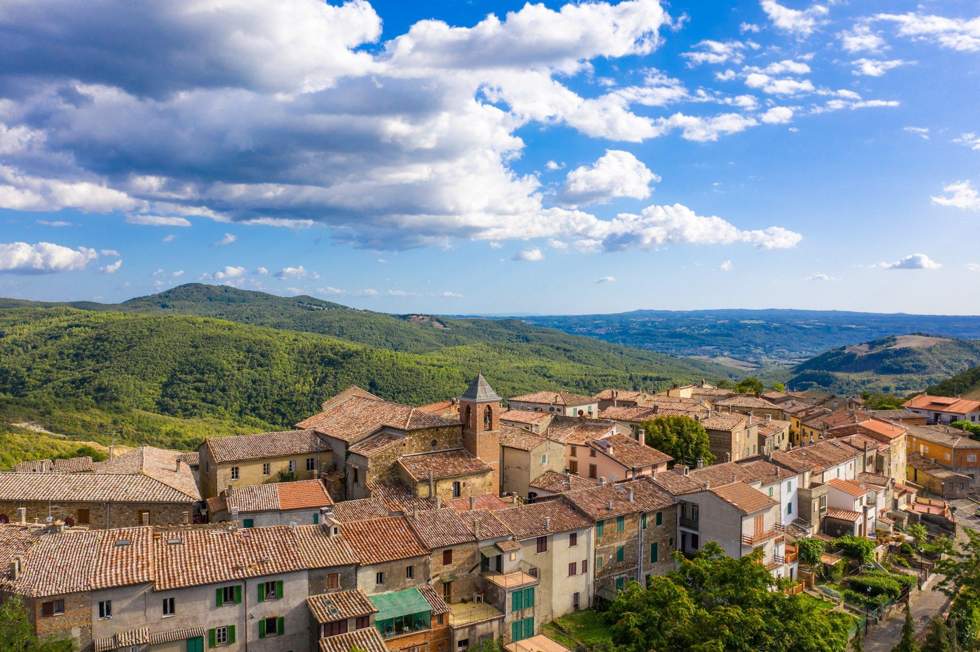 Trevinano Tuscany